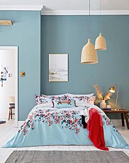 Joules Falmouth Floral Reversible Duvet Cover Set