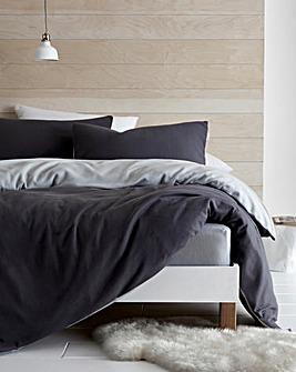 So Soft Reversible Fleece Duvet Set