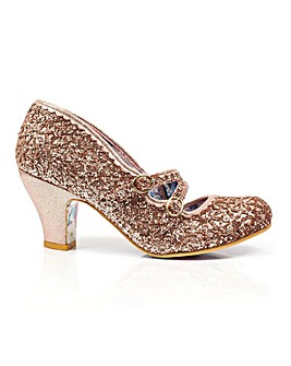 Irregular Choice Dazzle Dance Court Shoes Standard Fit