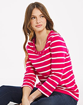 Julipa Stripe Jersey Top