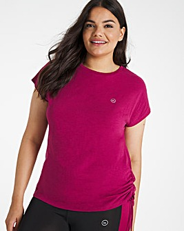 Active Ruched Side T-shirt