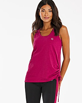 Active Ruched Side Vest