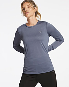 Active Crew neck Top