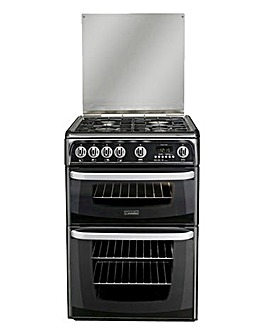 Hotpoint CH60GCIK Gas Double Cooker