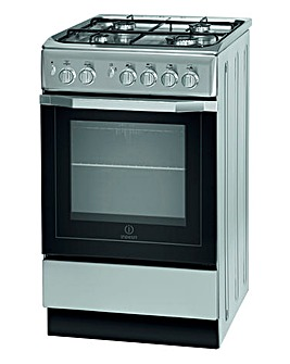Indesit I5GG1(S)/UK Gas Single Cooker