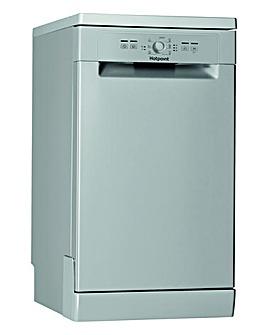 Hotpoint HSFE1B19S Slimline Dishwasher Silver