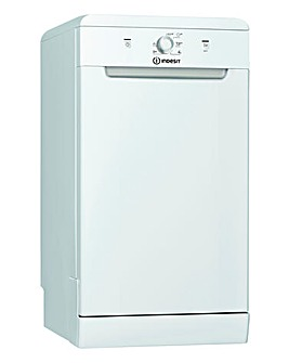 Indesit DSFE1B10 Slimline Dishwasher White