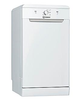 Indesit DSFE 1B10 UK N Freestanding 10-place Slimline Dishwasher - White