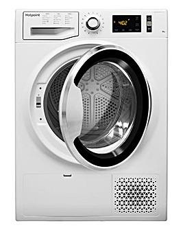 Hotpoint NTM1192SBUK 9KG Heat Pump Dryer