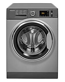 Hotpoint ActiveCare NM11946GCA 9kg 1400spin Washing Machine Graphite