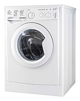 Indesit Iwc 71252 Eco Uk.M 7 Kg 1200 Spin Led Washer + Installation