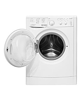 Indesit EcoTime IWC71252E 7kg 1200spin Washing Machine White