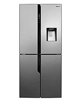 Hisense RQ560N4WC1 4 Door Fridge Freezer