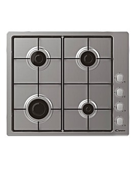 Candy CHW6LX 60cm Gas Hob 4 Burner