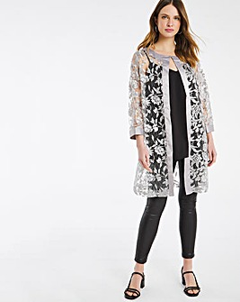 Nightingales Silver Embroidered Jacket