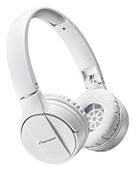 Pioneer Wireless On Ear Headphones White