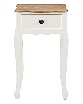 Arielle Assembled 1 Drawer Bedside Table