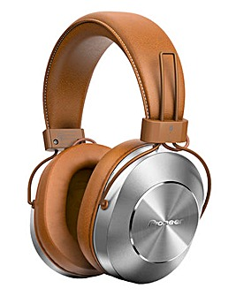 Pioneer Over Ear Hi Res Wireless Headphones Tan