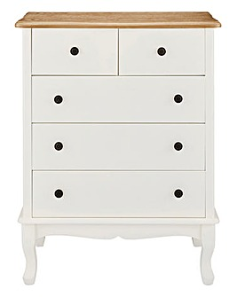 Arielle Ready Assembled 2+3 Drawer Chest