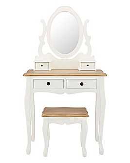 Arielle Assembled Dressing Table Set