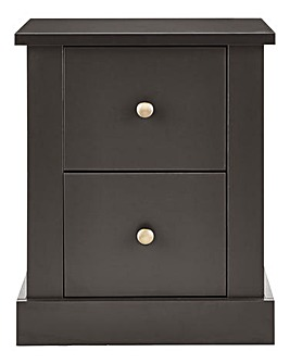 Fletcher 2 Drawer Bedside Table