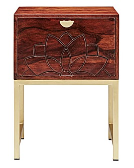 Constantine Acacia Wooden Side Table
