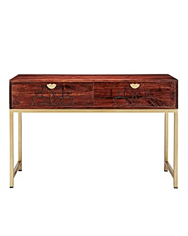 Constantine Acacia Wooden Console Table