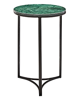 Savanna Marble Round Side Table