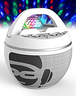 Karaoke Machine Partyball Light Show