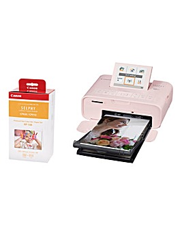 Canon SELPHY CP1300 Pink Photo Printer