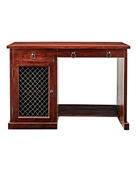 Jaipur Acacia 1 Door 2 Drawer Desk