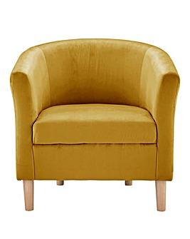 Jessy Velvet Tub Chair