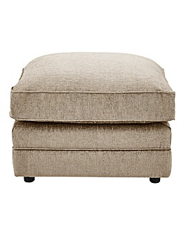 Horizon Stripe Footstool