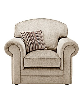 Horizon Stripe Armchair