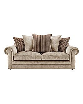 Horizon Stripe 3 Seater Sofa