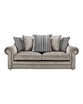 Horizon Stripe 3 Seater Sofa