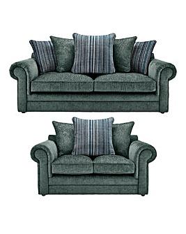 Horizon Stripe 3 Seater plus 2 Sofa