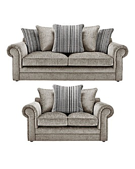 Horizon Stripe 3 Seater plus 2 Sofa