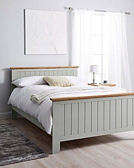 Hampton Bed with Memory Mattress