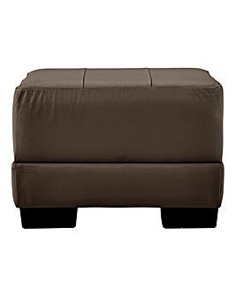 Hugo Leather Footstool