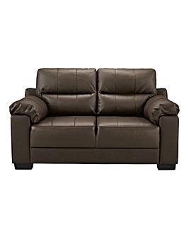 Hugo Leather 2 Seater Sofa