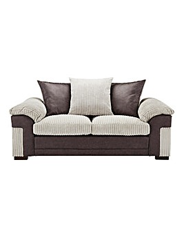 Dexter Jumbo Cord Scatter Back 2 Seater Sofa