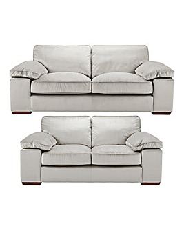 Emilie Velvet 3 plus 2 Seater Sofa