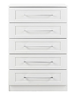 Harrogate Assembled 5 Drawer Chest