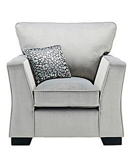 Chloe Velvet Armchair
