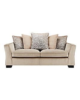 Chloe Velvet 3 Seater Sofa