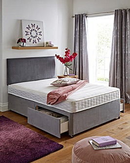 Airsprung Lincoln Platform Top 2 Drawer Divan Base