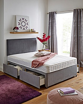 Airsprung Lincoln Platform Top 4 Drawer Divan Base