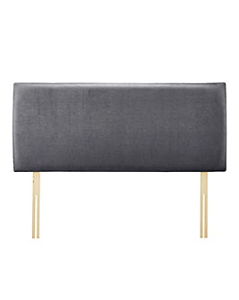 Caitlyn Suede Fabric Headboard
