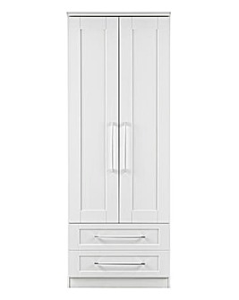 Harrogate Assembled 2 Door Wardrobe